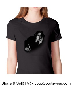 Wilde Short Sleeve Women's T-Shirt Design Zoom